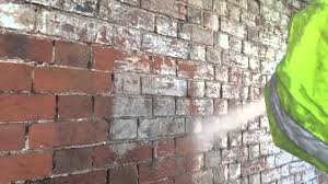 limewash removal from brickwork with amazing results youtube