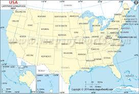 latitude map buy us map with latitude and longitude