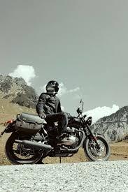 triumph bonneville t120 black jet black rockn roll bike