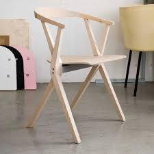 contemporary chair folding stacking molded plywood b bd