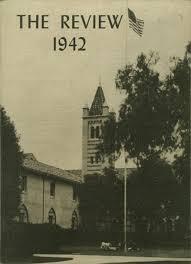 yearbook reprints 1942 santa high school yearbook online santa ca