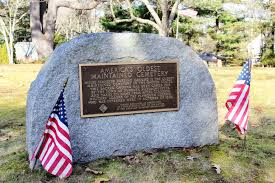 significance of thanksgiving day in america america u0027s oldest cemetery miles standish cemetery in duxbury ma