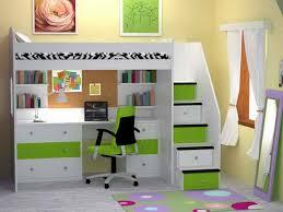 Loft Bed Desk Incredible Diy Loft Bed Plans With A Desk Under - White bunk beds with desk