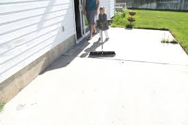 Stain Concrete Patio by How To Stain Concrete Simple To Clean Patio Renate