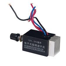 fan motor speed control switch dc 12v 24v motor speed controller switch for car truck fan heater