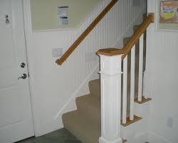 Wainscoting On Stairs Ideas Future Projects U2013 Foyer And Staircase Chair Rail Wainscoting