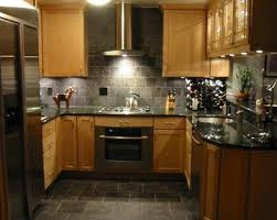 Kitchens With Maple Cabinets Best 25 Slate Appliances Ideas On Pinterest Black Stainless