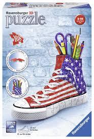 Flag Pictures 3d Puzzle Sneaker Flag 108 Teile Ravensburger Puzzle Online