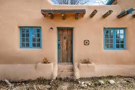adobe style home plans santa fe house plans style homes pueblo h traintoball