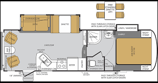 bunkhouse fifth wheel floor plans forest river wildcat fifth wheels