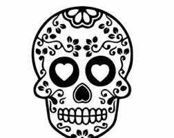 sugar skull decals for cars and homes sugar skull decor dia de