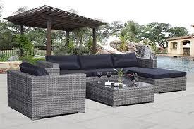 Rattan Garden Furniture Sofa Sets 6pc Rattan Garden Furniture Sofa Set