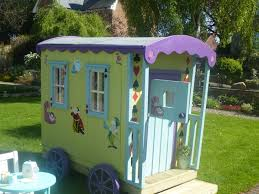 Backyard Playhouse Ideas Remarkable Kids Outdoor Wooden Playhouse Deco Containing Divine