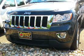 jeep chrome jeep grand cherokee chrome fog light bezel cover trim