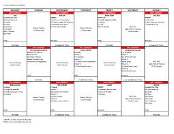 Crossfit Programming Spreadsheet This Is The Training Schedule From The Most Recent 5 4 5 24