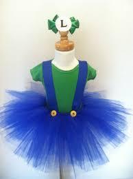 Mario Luigi Halloween Costume 88 Diy Sew Tutu Costumes Tutu Costumes