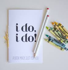 printable wedding activity book