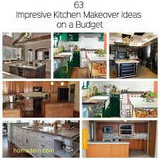kitchen makeover ideas pictures 63 impresive kitchen makeover ideas on a budget homadein