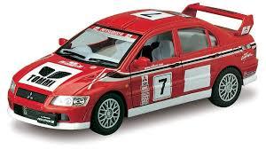 mitsubishi race car kinsmart mitsubishi lancer evolution diecast model car 1 36 ebay