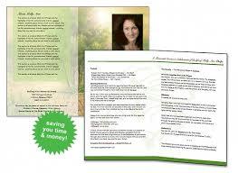 free sle funeral programs templates free funeral program template program template funeral and template