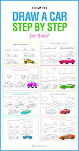 kid car drawing best 25 how to draw cars ideas on pinterest car drawings