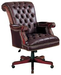 Coaster Executive Desk Coaster Traditional Executive Chair Brown Traditional Office
