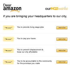 Business Letter Closings List by Our Amazon Hq2 Wishlist