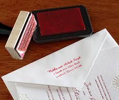 wedding invitations return address custom rubber sts for wedding invitations invitations by ajalon