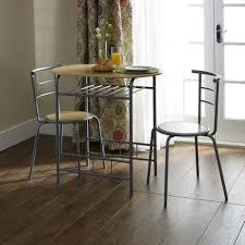 two seat kitchen table breakfast dining set 3 piece at wilko within two seater kitchen
