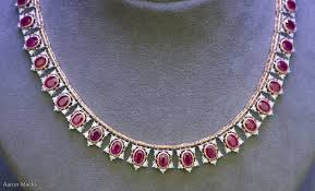 diamond necklace ruby images Album ruby and diamond necklace jpg