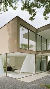 farbe einfamilienhaus trkis modernes wohndesign kühles modernes haus fassade streichen