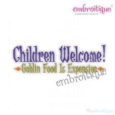 Home Decor On Sale Children Welcome Goblin Food Is Expensive Halloween Machine
