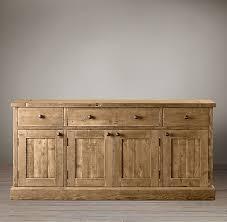 wood panel sideboard