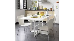 crate and barrel dining room tables white gateleg table crate and barrel kitchen tables span white