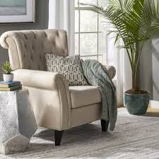 Beige Accent Chair Beige Accent Chairs You Ll Wayfair