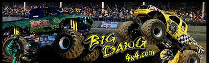 la county fair monster truck big dawg 4x4 home of the big dawg tail gator monster trucks