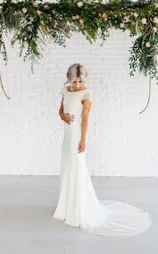 bridal dresses with sleeves simple casual wedding dress informal bridal gowns june bridals