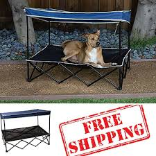 portable dog bed with canopy home beds decoration amazon com outdoor dog bed with canopy pet shade dog shade canopy raised dog bed elevated pet bed