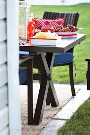 Furniture Enjoy Your Backyard With Perfect Picnic Tables Lowes by Kara U0027s Party Ideas 4th Of July Backyard Patio Barbeque Kara U0027s