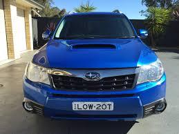blue subaru forester 2011 subaru forester s my11 car sales nsw penrith 2690919