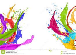 paint images colorful paint splatters on white colourful paint pinterest
