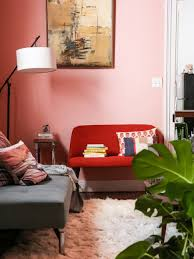 living room all pink room baby pink room blue and pink painted