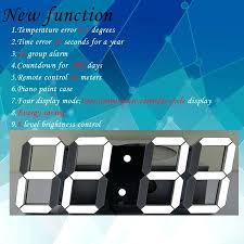 ivation clock wall clocks blue led wall clock blue led digital wall clock