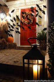 Outdoor Halloween Decorations Porch by Best 25 Halloween Front Porches Ideas On Pinterest Halloween