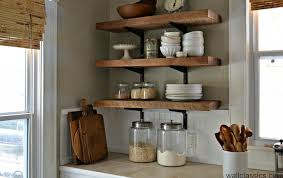 shelving ideas for kitchens open shelf kitchen ideas home decor gallery