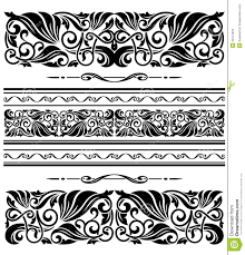 decorative ornaments and patterns stock vector image 32474924