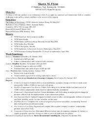 resume deans list shawn flynn resume