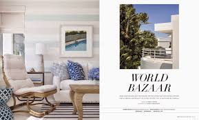 Palm Beach Home Builders by Jessica Glynn Luxe Magazine Winter 2015 A Colorful And