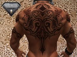 Tribal Torso - second marketplace hair medium for torso tattoos