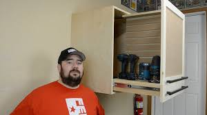 how to make a cordless tool cabinet ep34